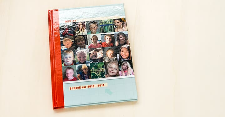 Jaarboek schoolboek