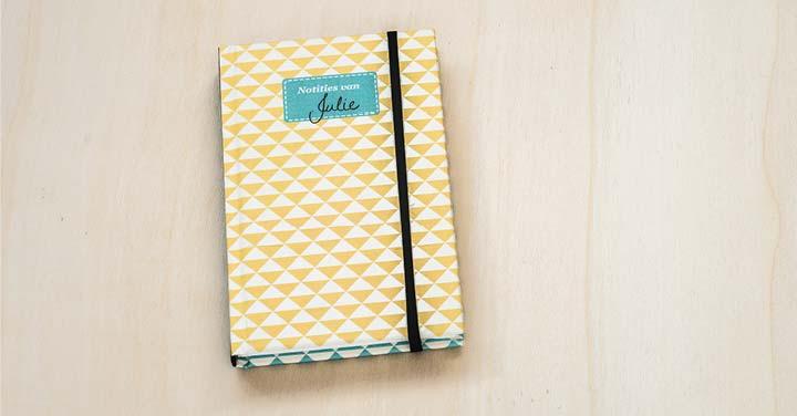 gepersonaliseerd notitieboekje maken
