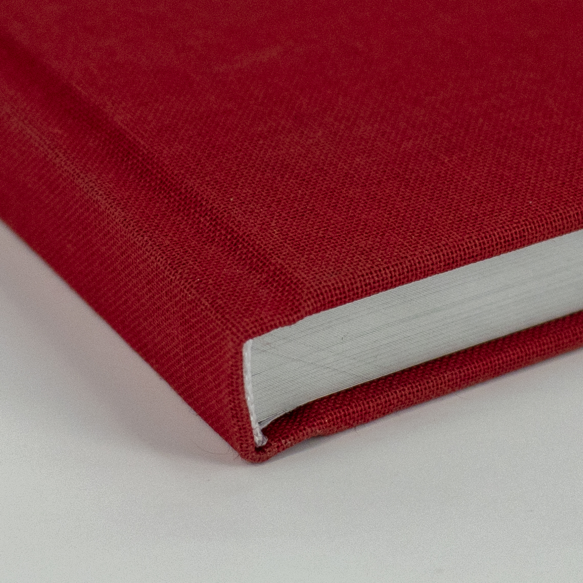 hardcover met linnen omslag