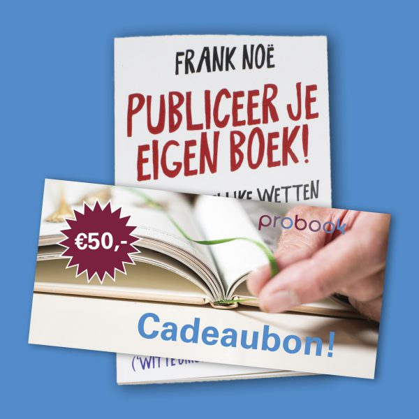50 euro cadeaubon + gratis boek