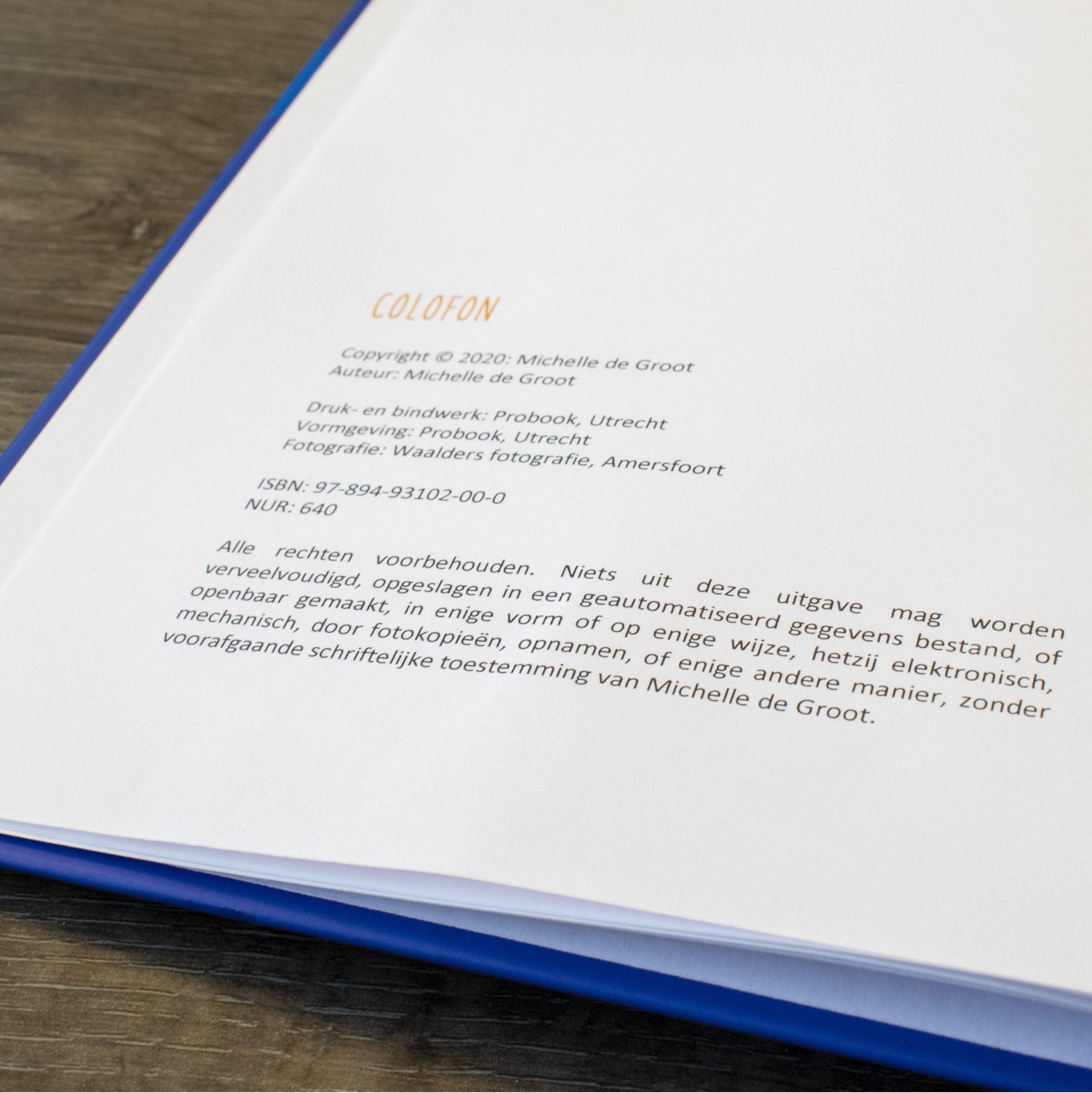 auteursrechten bij een boek