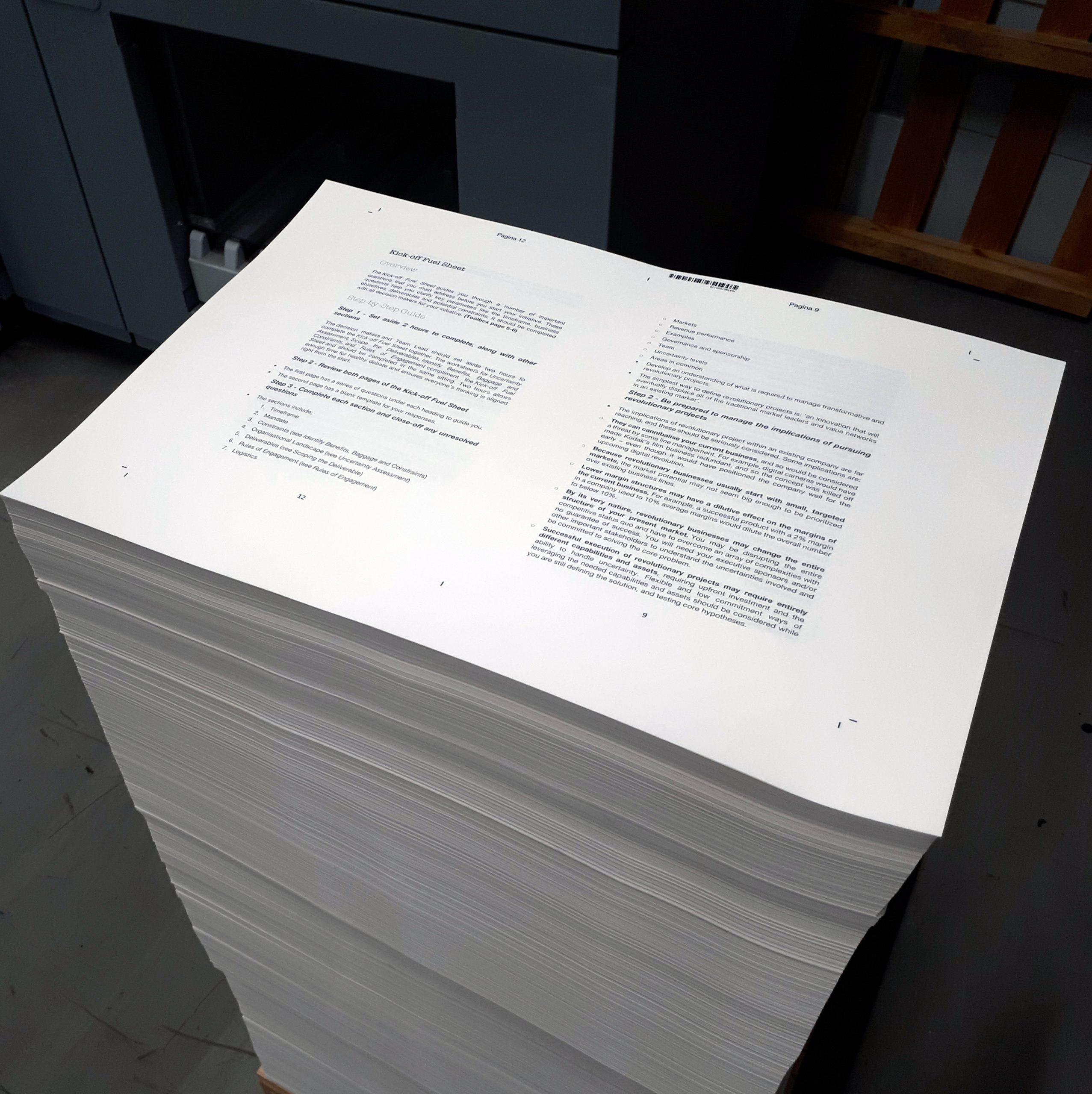 drukwerk aanleveren boek afwerking