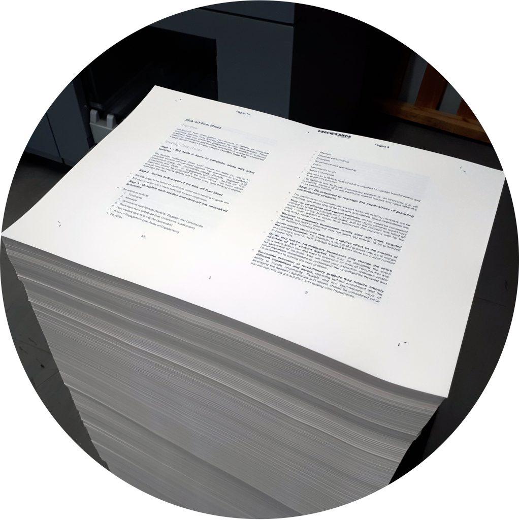 drukwerk aanleveren boek maken