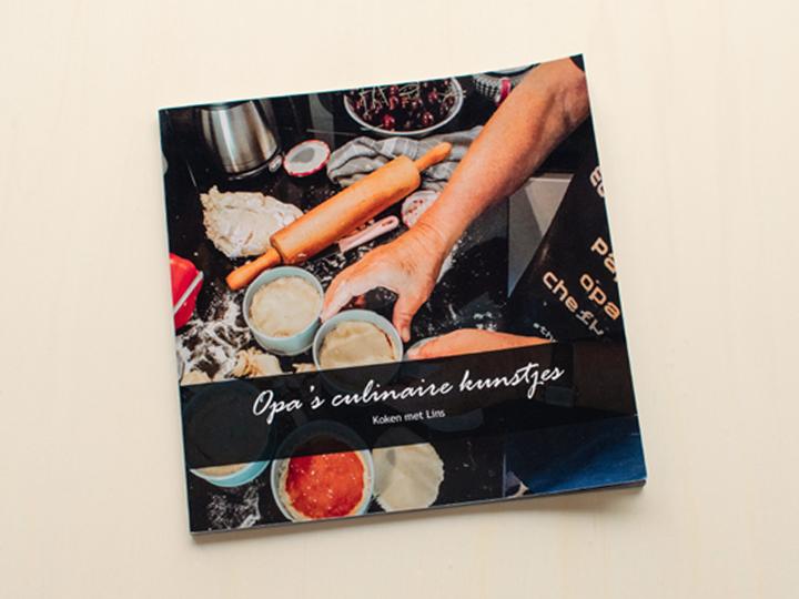 eigen receptenboek laten maken