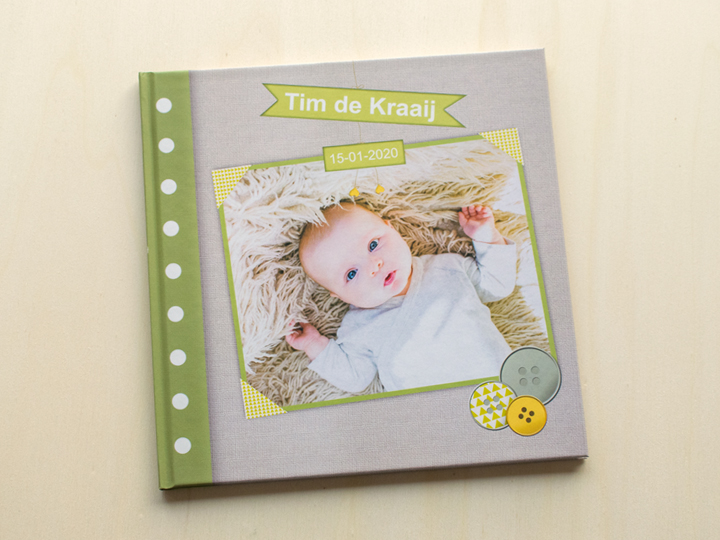 babyboek maken foto's