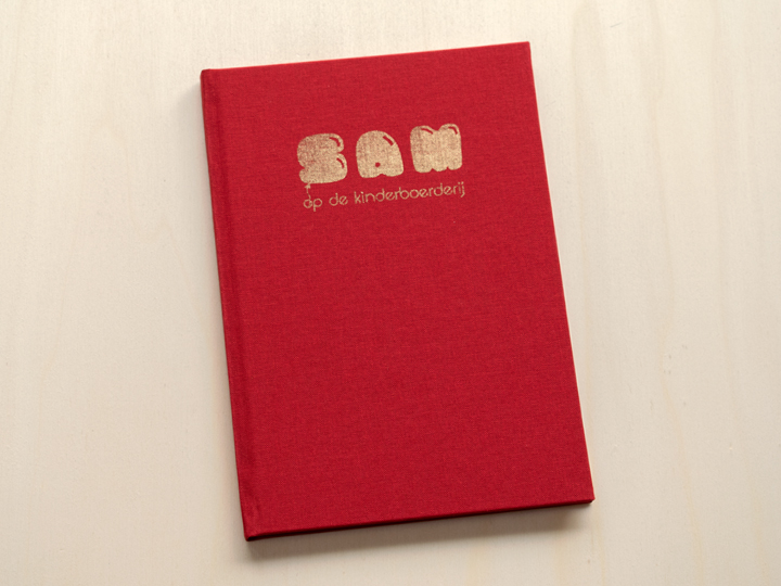 linnen boek drukken met goud