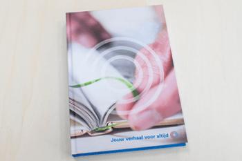 hardcover boek drukken met eigen ontwerp